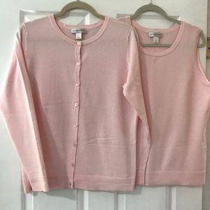 Light Pink Sweater Set